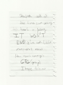 Letter by a nine year old girl 2