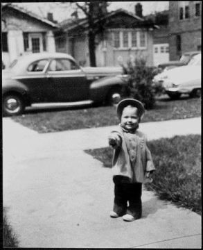 Hillary Clinton as a child